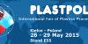 PlastPol 2015 - Hall. E Stand 55