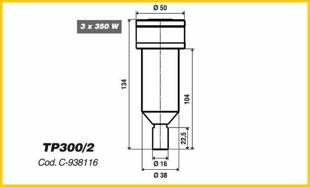 Torpedo Nozzles Tp Series Guzzini Engineering Srl
